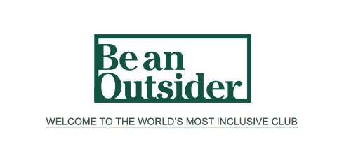 Be an Outsider Banner